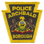 Archbald Borough Police Department, PA
