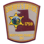 Hertford County Sheriff's Office, NC