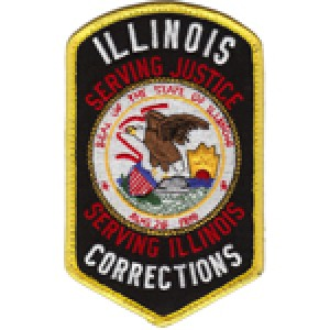 United States Illinois Department Corrections Juvenile Division Patch Retired