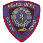Irvine Police Department, KY