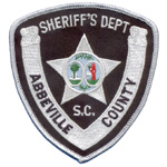 Abbeville County Sheriff's Department, SC