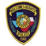 Balcones Heights Police Department, TX