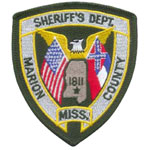 Marion County Sheriff's Department, MS