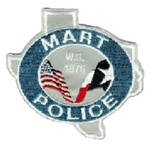 Mart Police Department, TX
