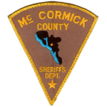 McCormick County Sheriff's Department, SC