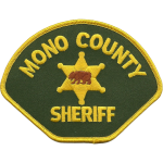 Mono County Sheriff's Office, CA