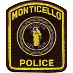 Monticello Police Department, GA