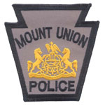 Mount Union Borough Police Department, PA