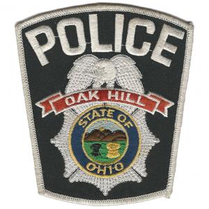 Patrolman Dave L Alcox Oak Hill Police Department Ohio