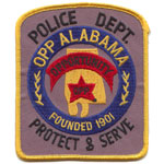 Opp Police Department, AL