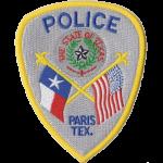 Paris Police Department, TX