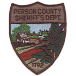 Person County Sheriff's Office, NC