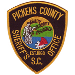 Pickens County Sheriff's Office, SC