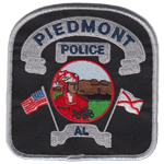 Piedmont Police Department, AL