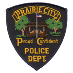 Prairie City Police Department, IA