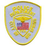 Big Spring Police Department, TX