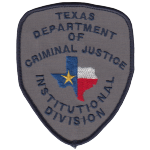 Texas Department of Criminal Justice - Correctional Institutions Division, TX