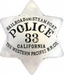 Western Pacific Railroad Police Department, RR