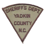 Yadkin County Sheriff's Office, NC