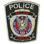 Allen Police Department, OK