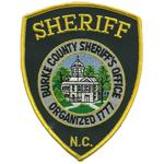 Burke County Sheriff's Office, NC