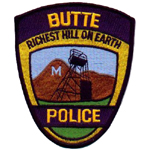 Butte Police Department, MT