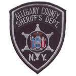 Allegany County Sheriff's Department, NY