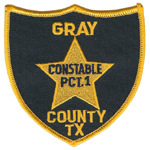 Gray County Constable's Office - Precinct 1, TX