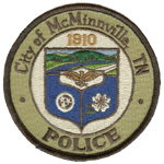 McMinnville Police Department, TN