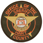 Hart County Sheriff's Office, GA
