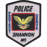 Shannon Police Department, MS