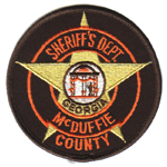 McDuffie County Sheriff's Office, GA