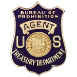 United States Department of the Treasury - Bureau of Prohibition, US