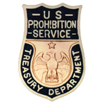 United States Department of the Treasury - Prohibition Service, US