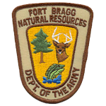 United States Department of Defense - Fort Bragg Conservation Law Enforcement, US