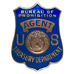 United States Department of the Treasury - Internal Revenue Service - Bureau of Prohibition, US