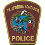 California Borough Police Department, PA