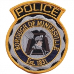 Minersville Borough Police Department, PA