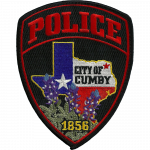 Cumby Police Department, TX