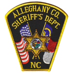 Alleghany County Sheriff's Office, NC