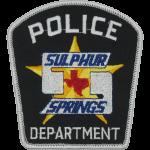 Sulphur Springs Police Department, TX
