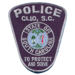 Clio Police Department, SC