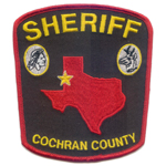 Cochran County Sheriff's Department, TX