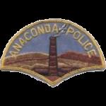 Anaconda Police Department, MT
