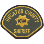 Decatur County Sheriff's Department, IA