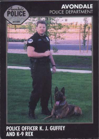 K9 Rex | Avondale Police Department, Arizona