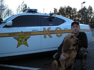K9 Maggie | Louisa County Sheriff's Office, Virginia