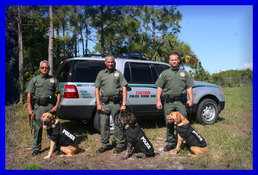 K9 Gus | Florida Fish and Wildlife Conservation Commission, Florida