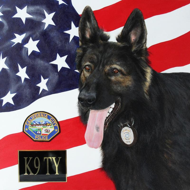 K9 Ty Vom Friedrichsfelder Eck | California City Police Department, California