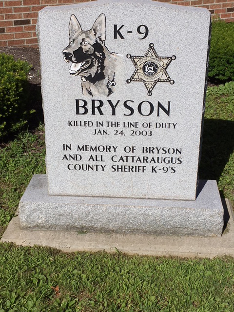 K9 Bryson | Cattaraugus County Sheriff's Office, New York